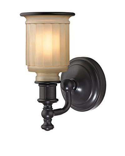 Artistic Lighting Acadia Collection 1-Light LED Bath Bar, Oil Rubbed Bronze