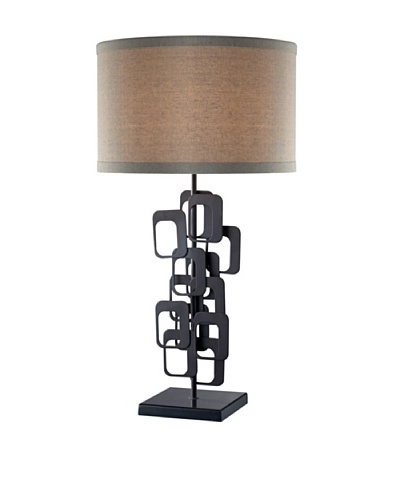 Artistic Lighting Griffin Table Lamp, Matte Black