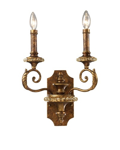 Artistic Lighting Montavilla 2-Light Sconce, Spanish Bronze