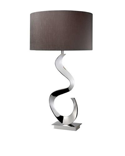 Artistic Lighting Morgan Table Lamp, Chrome