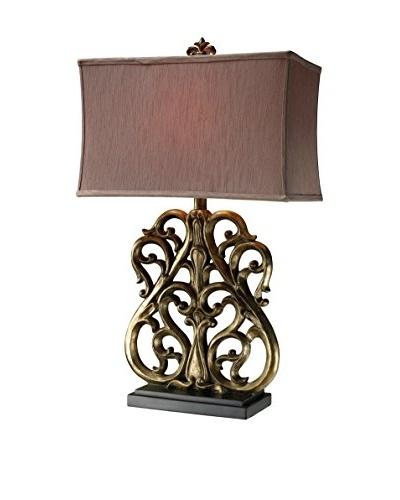 Artistic Lighting Roseville Table Lamp, Oriole Gold