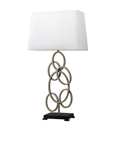 Dimond Lighting Knox Table Lamp, Antique Silver