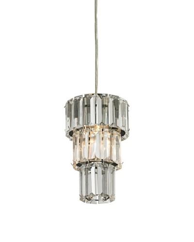 Artistic Lighting Cynthia Collection 1-Light Mini-Pendant, Polished Chrome