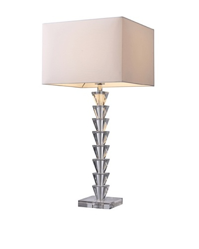 Artistic Lighting Fifth Avenue Table Lamp, Crystal