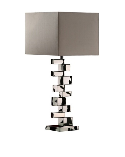 Artistic Lighting Emmaus Table Lamp, Chrome