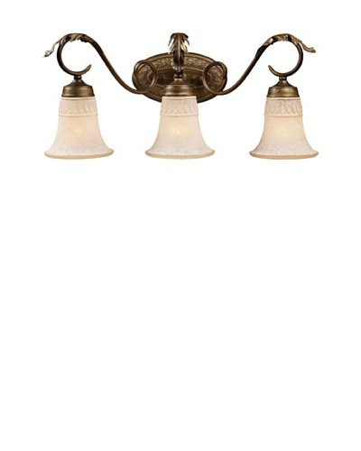 Artistic Lighting Briarcliff 3-Light Bar, Weathered Umber