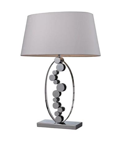 Artistic Lighting Sidney Table Lamp, Chrome/Crystal