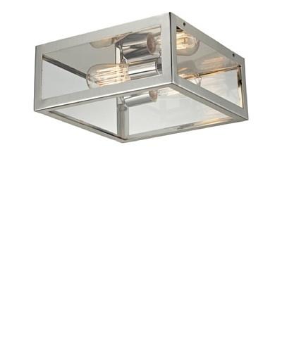 Artistic Lighting Parameters 2-Light Semi-Flush, Polished Chrome