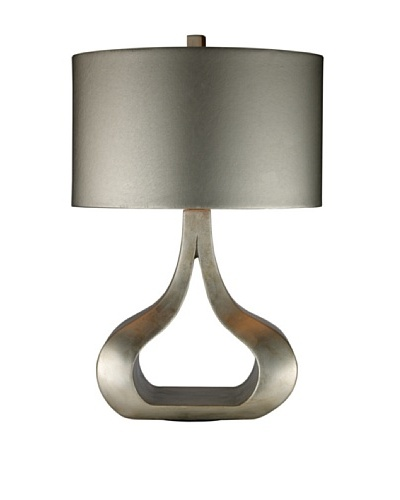 Artistic Lighting Carolina Table Lamp, Silver Leaf