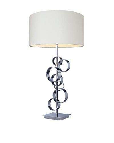 Artistic Lighting Avon Table Lamp, Chrome