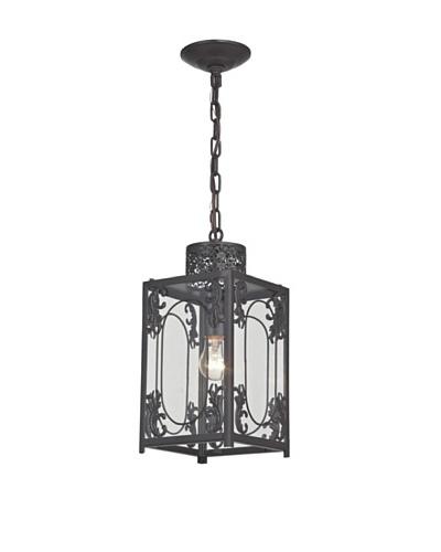 Artistic Lighting Belwood Pendant Light, Aged Bronze