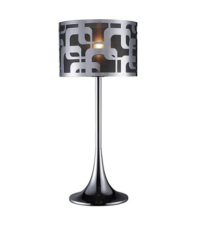Artistic Lighting Blawnox Table Lamp, Chrome