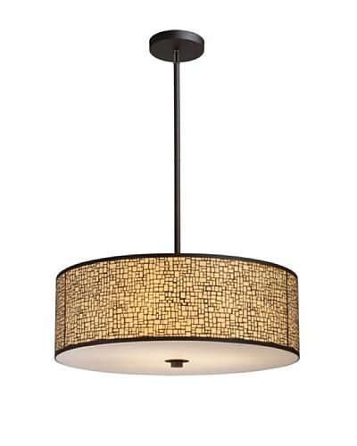 Artistic Lighting Medina 5-Light Pendant, Aged Bronze