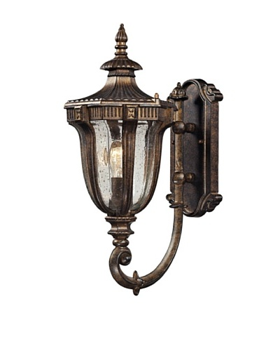 Artistic Lighting Sturgess Castle Outdoor Wall Sconce, Regal Bronze