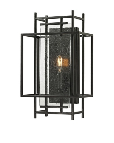 Artistic Lighting Intersections Collection 1-Light Sconce, Oil Rubbed Bronze