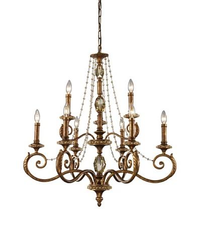 Artistic LightingMontavilla 9-Light Chandelier, Spanish Bronze