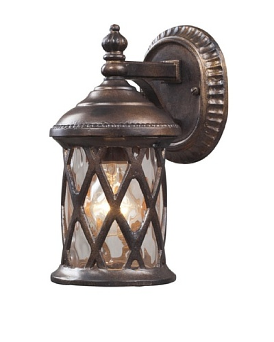 Artistic Lighting Barrington Gate Outdoor Sconce, Hazelnut Bronze