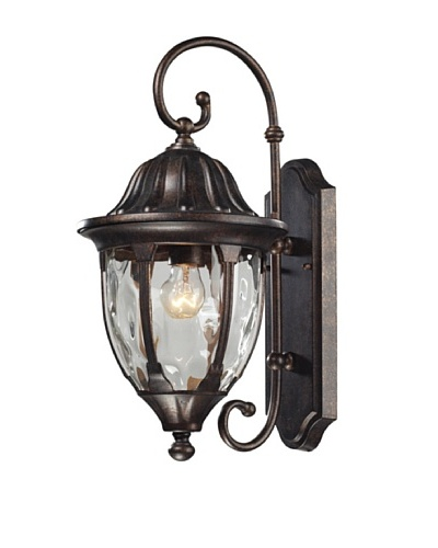 Artistic Lighting Glendale Outdoor Wall Sconce, Regal Bronze