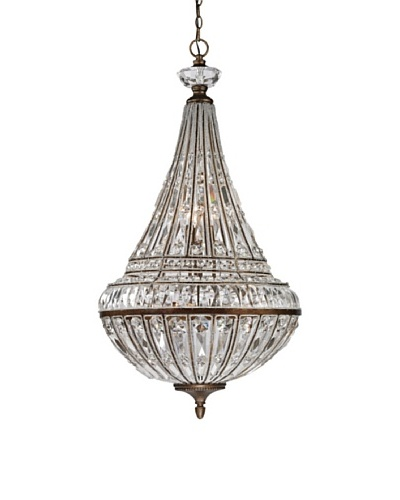 Artistic Lighting Empire Collection 9- Light Pendant, Mocha