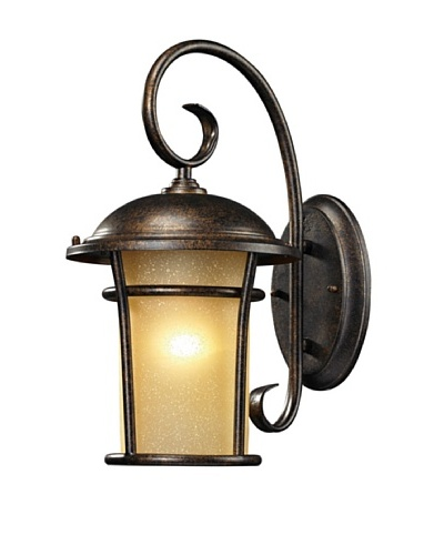 Artistic Lighting Bolla Vista Outdoor Wall Sconce, Regal Bronze