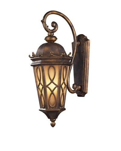 Artistic Lighting Burlington Junction 3-Light Outdoor Sconce, Hazelnut Bronze