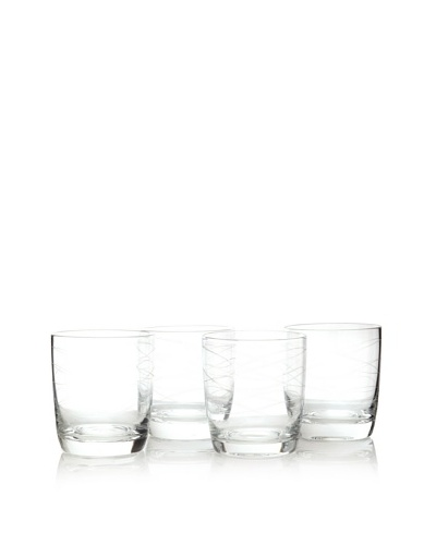 Artland Set of 4 Currents Double Old Fashioned Glasses