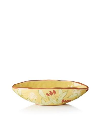 Artland Margaux Dip Bowl, Mustard/Rust, 12-Oz.
