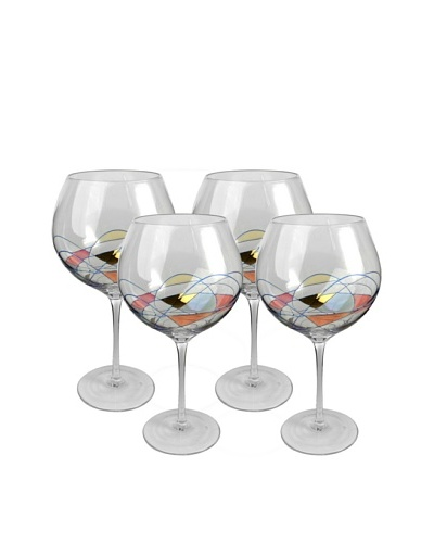 Artland Set of 4 Helios 32-Oz. Grand Balloon Goblets