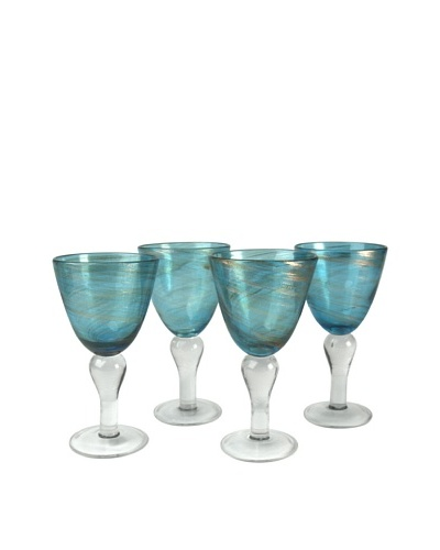 Artland Set of 4 Shimmer 12-Oz. Goblets