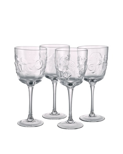 Shells Goblet, Set of 4