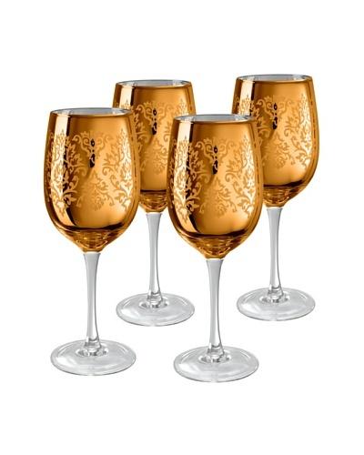 Artland Set of 4 Brocade 15-Oz. Wine Glasses