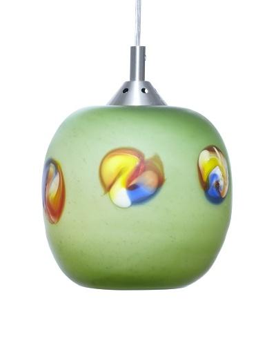 Arttex Spotten Pendant, Green