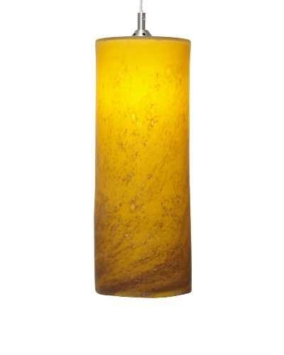 Arttex Cylinder Pendant, YellowAs You See