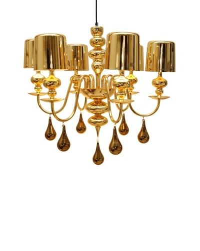 Arttex Lighting Vienne Pendant Light, Gold, Small