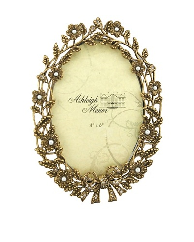 Ashleigh Manor Victorian-Style Oval Photo Frame