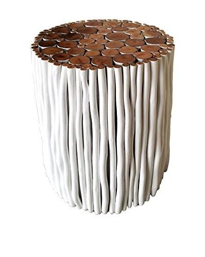 Asian Art Imports White Stick Stool