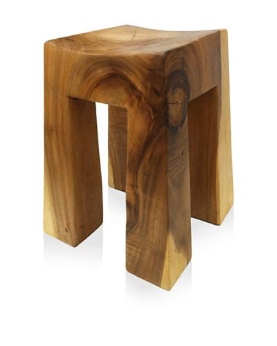Asian Art Imports Acacia Wood Bella Stool