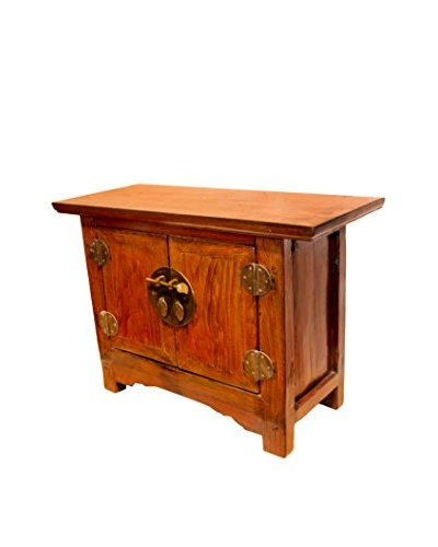 Asian Loft Two Door Elm Cabinet from The Shaanxi Dynasty