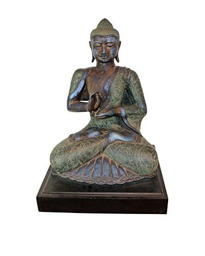 Asian Loft Bronze Buddha
