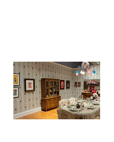 Astek Wall Coverings Set of 2 Journey Wall Tiles by Gary Baseman