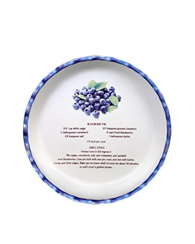 Aunt Beth's Cookie Keepers Blueberry Pie Plate