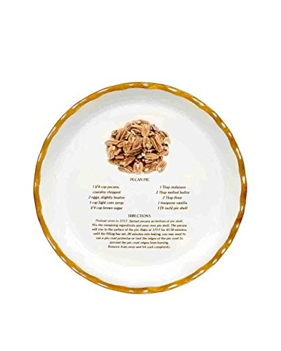 Aunt Beth's Cookie Keepers Pecan Pie Plate
