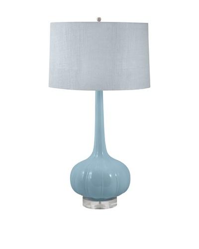 Aurora Lighting Del Mar Ceramic Table Lamp [Mint Blue]