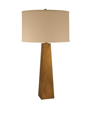 Aurora Lighting Pyramid Table Lamp [Gold Leaf]