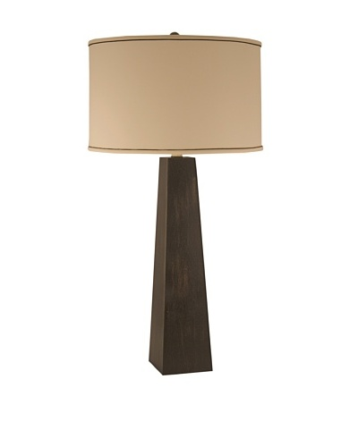 Aurora Lighting Pyramid Table Lamp [Ebony]