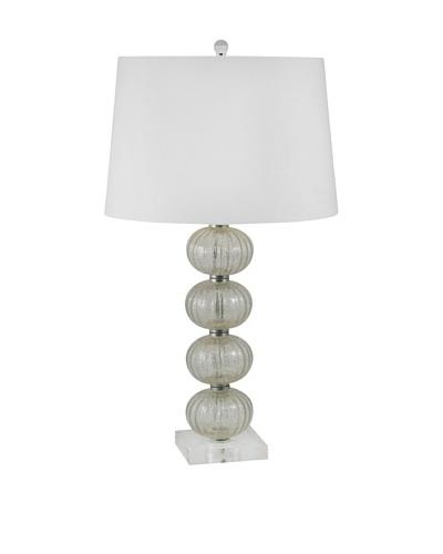 Aurora Lighting Glass Orb Table Lamp