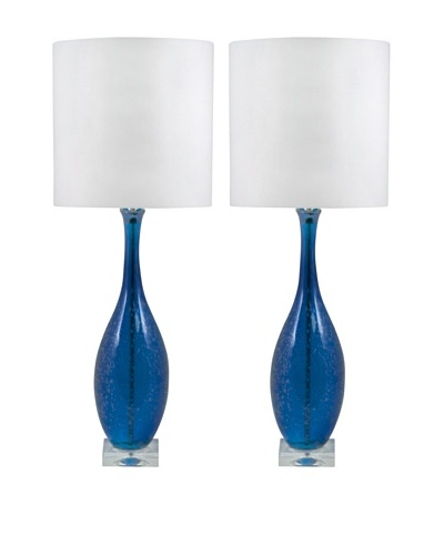 Aurora Lighting Seed Glass Table Lamp [Blue]