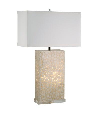 Aurora Lighting River Rock Table Lamp with Nightlight