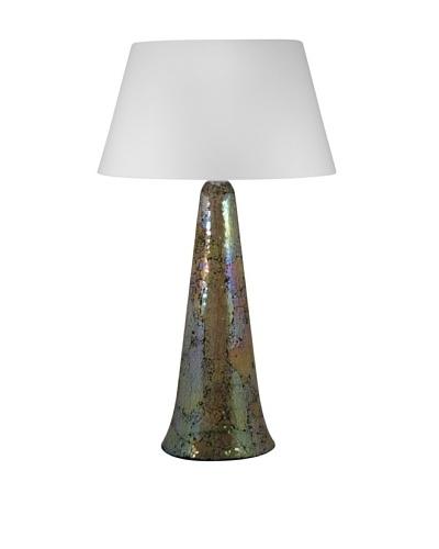 Aurora Lighting Mosaic Glass Table Lamp
