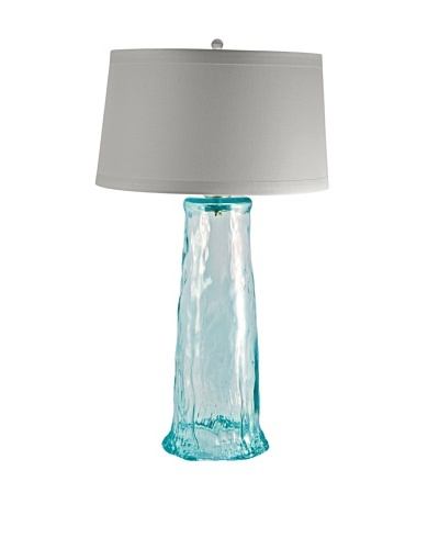 Aurora Lighting Recycled Clear Glass Waterfall Lamp